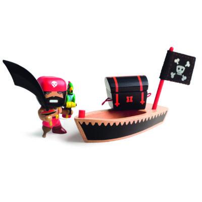 Kalóz El Loco hajójával - El Loco & Ze boat, 4 éves kortól - Djeco/Arty Toys