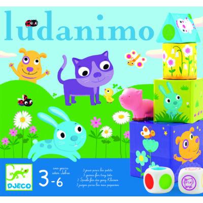 Ludanimo - 3 társasjáték a kicsiknek 3 éves kortól - Djeco