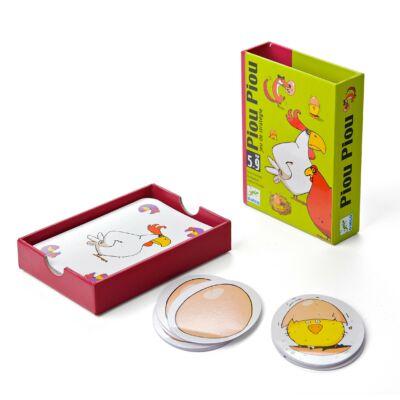 Piou Piou - logikai gyorsasági kártyajáték 5 éves kortól - Djeco