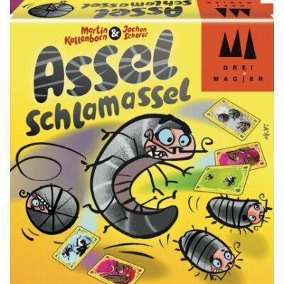 Slamászka, Assel Schlamassel csapkodósan bogaras kártyajáték 8 éves kortól - Drei Magier Spiele