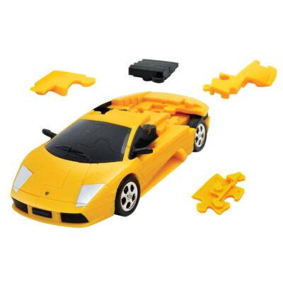 3D puzzle, Lamborghini Murciélago - sárga 8 éves kortól - Eureka