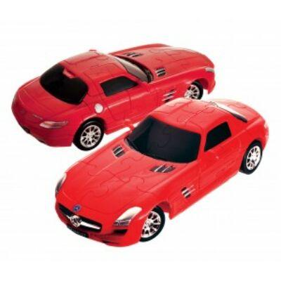 3D puzzle, Mercedes SLS AMG GT - piros 8 éves kortól - Eureka