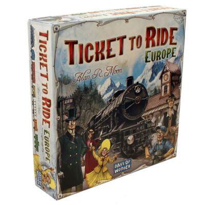 Ticket to Ride Europe, vonatos családi társasjáték 8 éves kortól - Days of Wonder