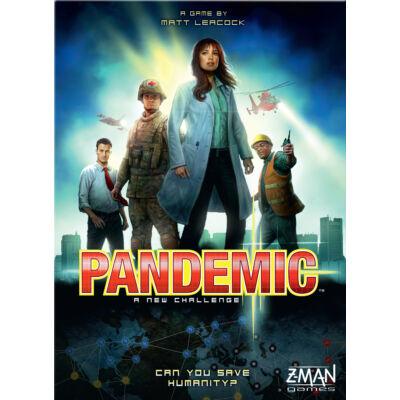 PANDEMIC kooperációs stratégiai társasjáték 8 éves kortól