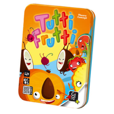 Tutti Frutti gyorsasági kártyajáték 4 éves kortól - Gigamic