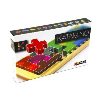 Katamino logikai, fejlesztő játék, társasjáték 3 éves kortól - Gigamic