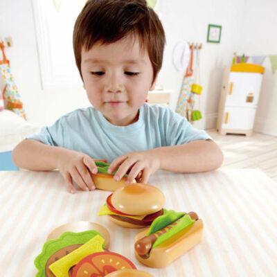 Hamburger és Hot-dog szett