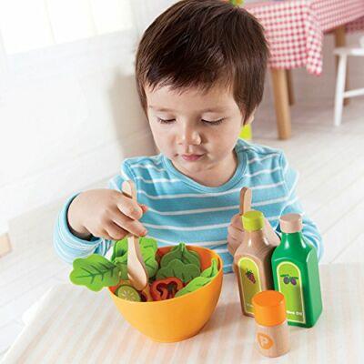 Kerti saláta filcből és fából, 3 éves kortól - HAPE