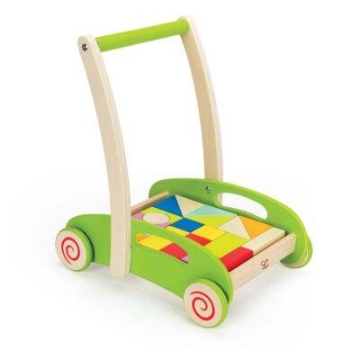 Építőkockás járássegítő, 1 éves kortól - HAPE