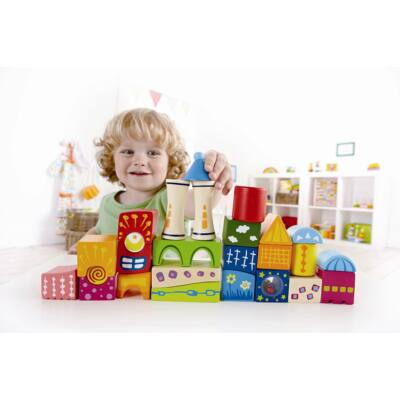 Fantázia kastély építőkockák, 2 éves kortól - HAPE