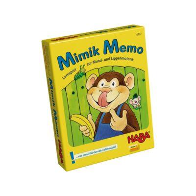 Mimik Memo logopédiai kártyajáték - Haba
