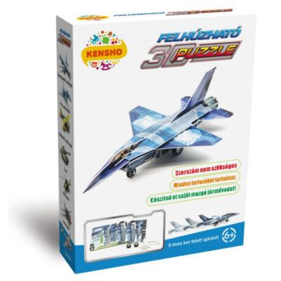 F-16 vadászgép, felhúzható 3D puzzle - Hope Winning