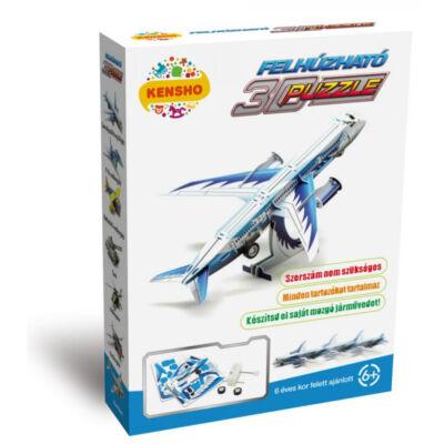 Személyszállító repülőgép, felhúzható 3D puzzle - Hope Winning