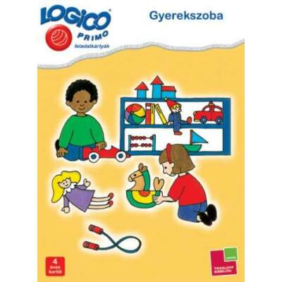 LOGICO Primo  feladatkártyák - Gyerekszoba 4 éves kortól
