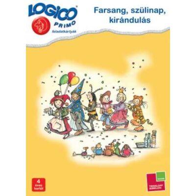 LOGICO Primo feladatkártyák - Farsang, szülinap, kirándulás 4 éves kortól