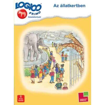 LOGICO Primo  feladatkártyák - Az állatkertben 5 éves kortól