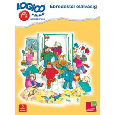 LOGICO Primo feladatkártyák - Ébredéstől elalvásig 3 éves kortól
