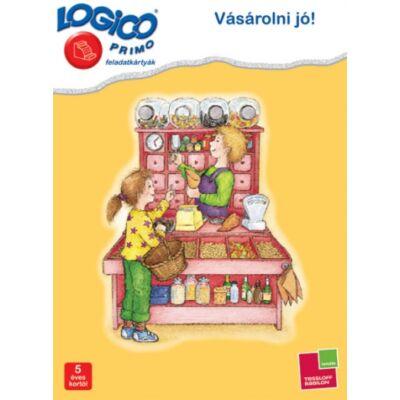 LOGICO Primo feladatkártyák - Vásárolni jó! 5 éves kortól