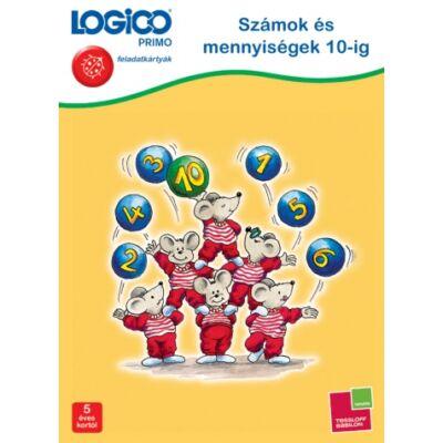 LOGICO Primo feladatkártyák - Számok és mennyiségek 5 éves kortól