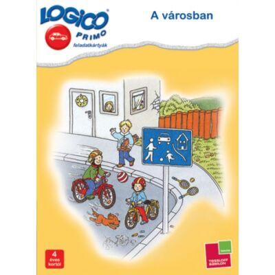 LOGICO Primo feladatkártyák - A városban 4 éves kortól