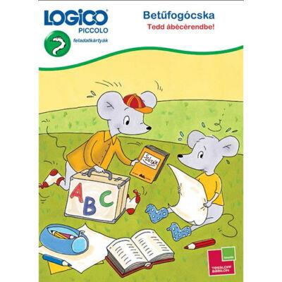 LOGICO Piccolo - Betűfogócska: Tedd ábécérendbe! ABC gyakorló 6 éves kortól