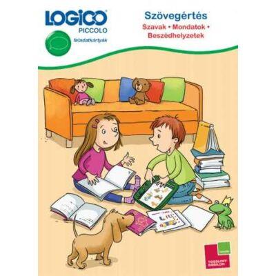LOGICO Piccolo -  Szövegértés: Mondatok, szavak, beszédhelyzetek 7-9 éves kisiskolásoknak