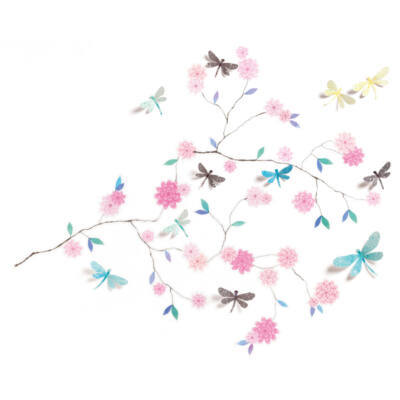 Falmatrica - Dragonflies tree - Szitakötők, 3D-s, LÉOPOLDINE - Little BIG room by Djeco