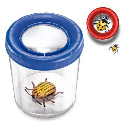 Megfordítható lencséjű bogárnézegető pohár, több színben, Mega Bug viewer - Navir