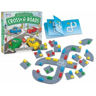 Cross Roads, autós logikai játék  8 éves kortól -  Popular Plaything