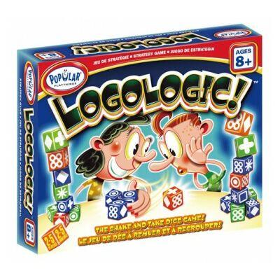 Logologic, stratégiai-dobókockás játék 8 éves kortól -  Popular Plaything