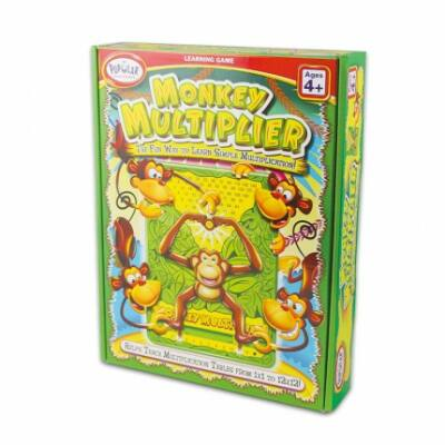 Monkey Multiplier, szórzótábla tanulást segítő játék kisiskolásoknak -  Popular Plaything