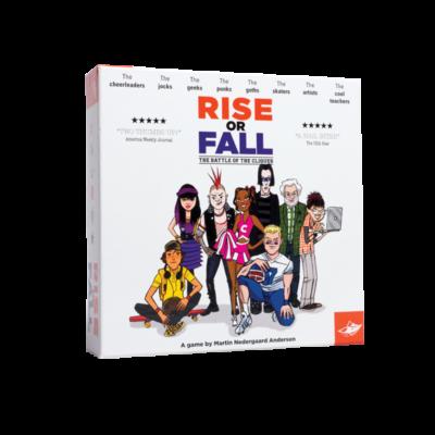 Rise or Fall, party játék 7 éves kortól -  FoxMind