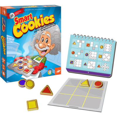 Smart Cookies,sütis logikai játék 6 éves kortól -  FoxMind