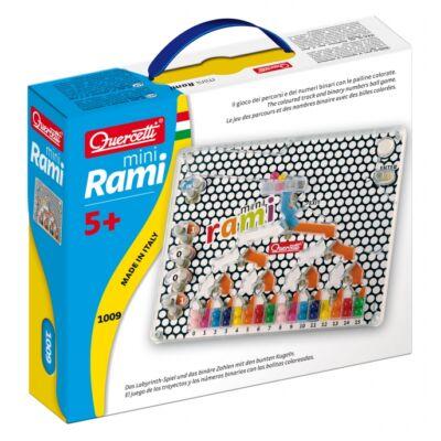 Mini RAMI, szem-kéz koordinációt fejlesztő játék 4 - 8 éves korig - Quercetti
