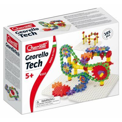 Georello Tech - 165 darabos fogaskerekes játék 5 éves kortól - Quercetti