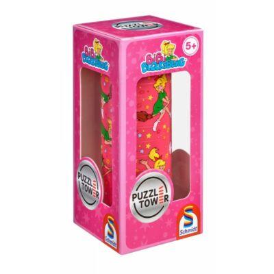 Kirakó torony- Bibi Blogsberg, Puzzle Tower Bibi Blogsberg, logikai játék 5 éves kortól - Schmidt Spiele
