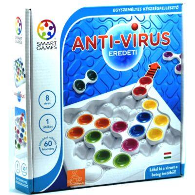 Anti-vírus, eredeti logikai játék 7 éves kortól, Antivirus - SmartGames