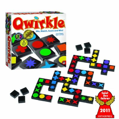 QWIRKLE, társasjáték 6 éves kortól - Schmidt Spiele