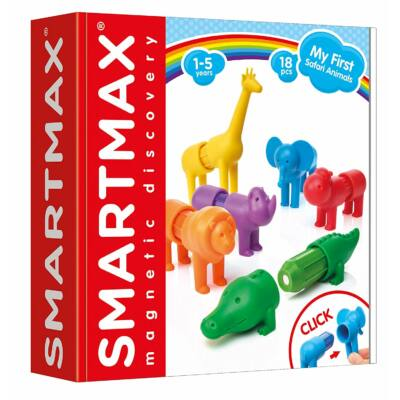 SmartMax My First Safari Animals, Első szafari állataim - 18 építőelem