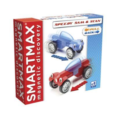 SmartMax Speedy Sam & Stan mágneses építőjáték 3 éves kortól - 6 építőelem