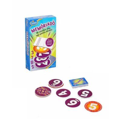 Memóriadó társasjáték, kártyajáték 6-7 éves kortól - ThinkFun