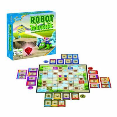 Robot Teknősök, Robot Turtles - magyar kiadású társasjáték 4 éves kortól - ThinkFun