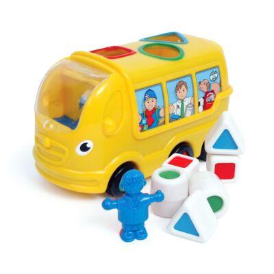 Sidney, az iskolabusz 12 hónapos kortól,  Sidney School Bus - Wow Toys