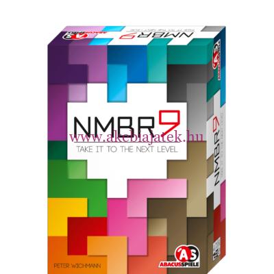 NMBR 9, matekos társasjáték - Abacus Spiele