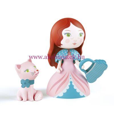 Rosa & Cat, Hercegnő cicával - Djeco/Arty Toys