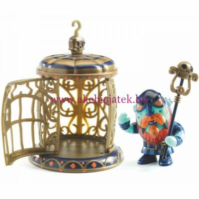 Gnomus & Ze cage, Kalóz ketreccel - Djeco/Arty Toys