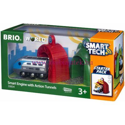 Okos mozdony alagútakkal Smart Tech, Smart Engine with Action Tunnels - BRIO