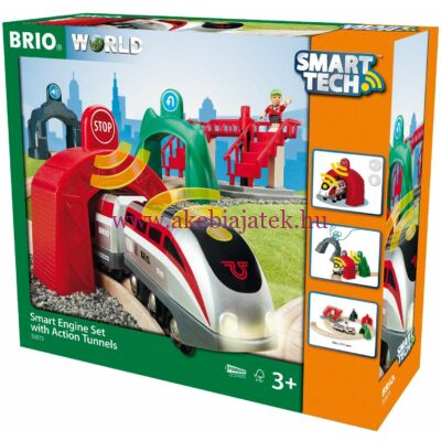 Okos alagút szett Smart Tech, Smart Engine Set with Action Tunnels - BRIO