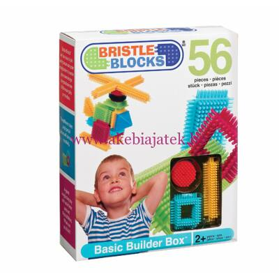 Bristle Blocks építőjáték alapkészlet, 56 db 2 éves kortól - Bristle Blocks
