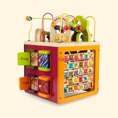 B. Activity Cube - Óriás fa activity kocka - B.Toys